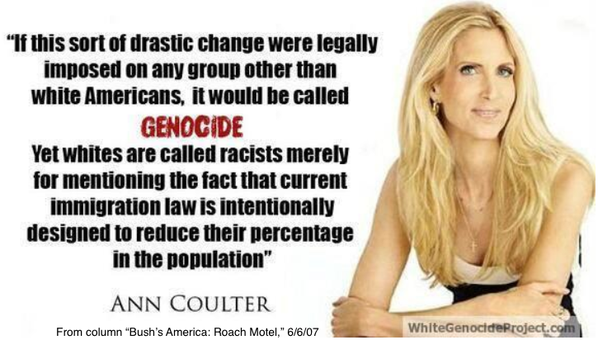 Coulter genocide