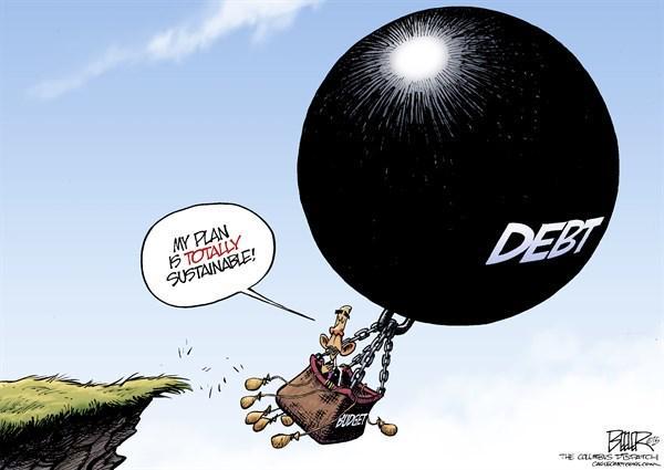 Debt ballon