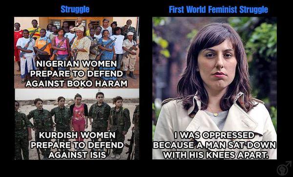 First world femisnism