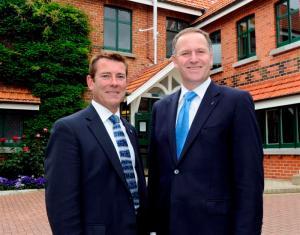 Michael Woodhouse and John Key