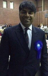 UK Conservative Party candidate Afzal Amin