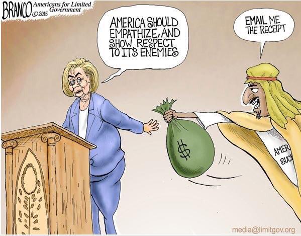 Hillary bribe