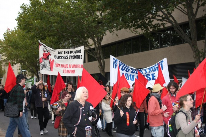 Melbourne May Day street march
