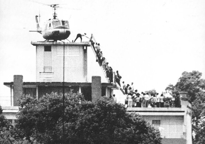 Saigon evacuation