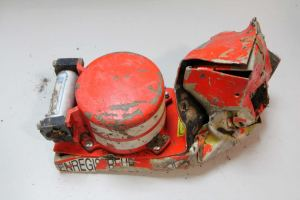 Black box recorder recovered from doomed flight