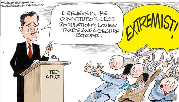 Cruz extremist