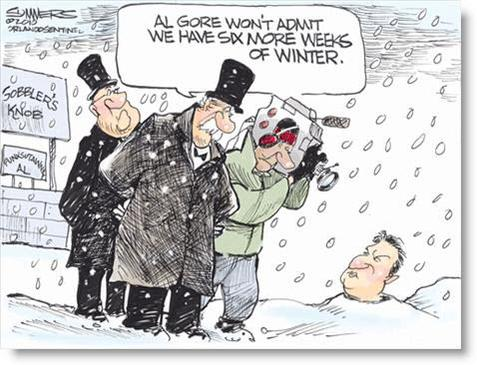 Gore groundhog day