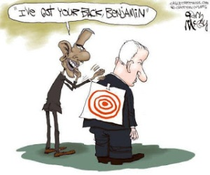 Obama has Netanyahu's back