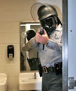 Shower police