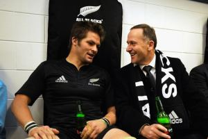 John Key And Richie McCaw
