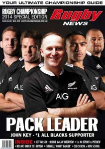 Key No 1 All Blacks Supporter