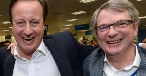Progressive appeaser David Cameron & friend & adviser Lynton Crosby