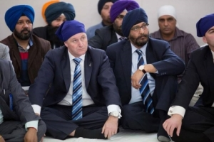 John Key Sikh Turban