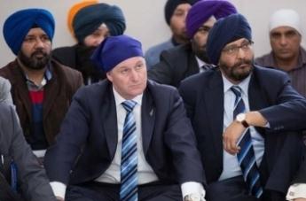 John Key Sikh Turban2