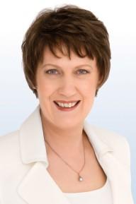 Clark's official UNDP biography photo