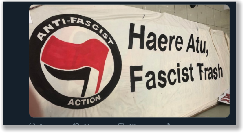 Should NZ police be cooperating with Antifa?