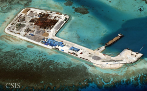 China construction in Spratly Islands